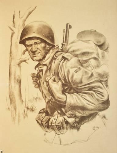 Тематика военные картинки солдат